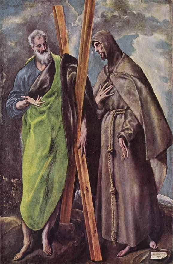 Св.Андрей и Франциск.1604. Мадрид. Прадо.