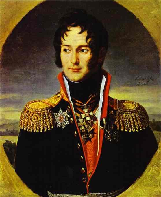 Портрет петра чичерена 1814