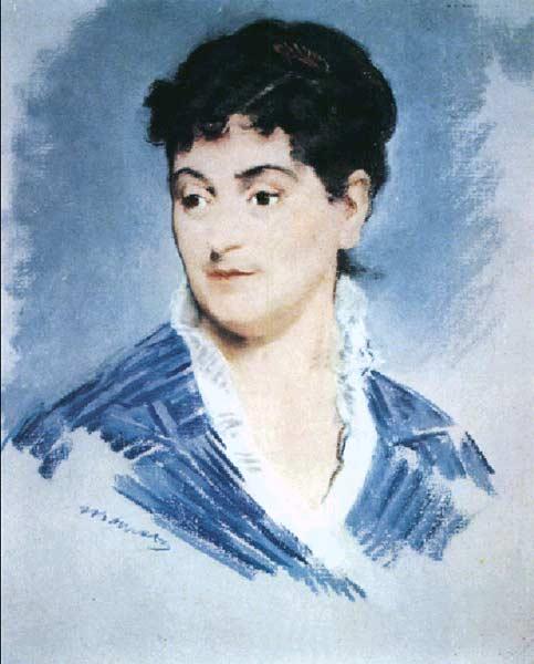 Портрет мадам Золя. 1879-1880гг.