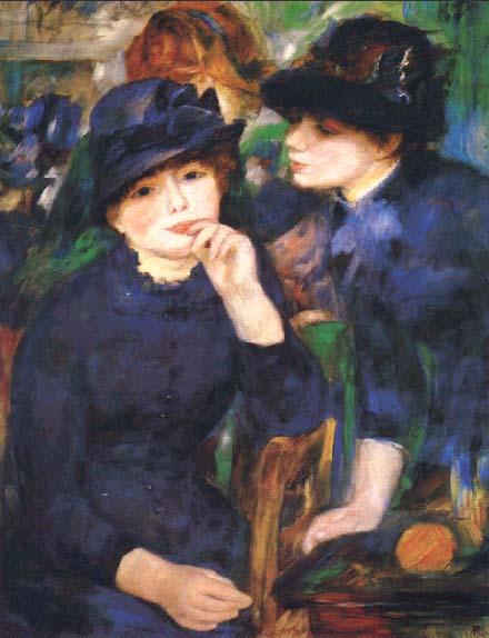 Девушки в чёрном 1880 82